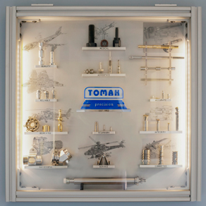 Created by the employees of Tomak in 2016 as a Christmas gift to the president.